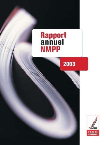 Rapport annuel 2003 - Presstalis