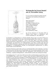 Weinprobe bei Ernst Dautel am 12. November 2004 - Rudolf X. Ruter