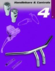 Handlebars & Controls - Custom Bikes by Mike