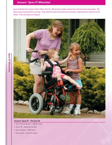 Invacare® Spree XT Wheelchair