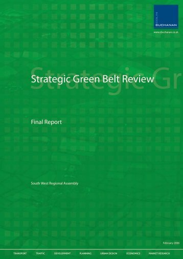 00.03 Strategic Green Belt Review - South West Regional Assembly
