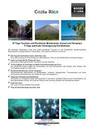 16 Tage Tauchen und Rundreise Monteverde, Arenal ... - Roger Tours
