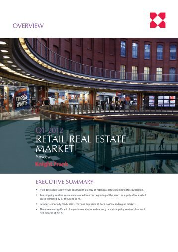 RETAIL REAL ESTATE MARKET - Knight Frank