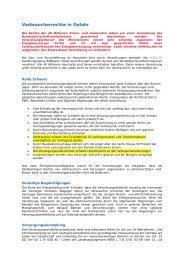 Verbraucherrechte in Gefahr - Interessengemeinschaft Vorsicht ...
