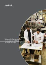 Tests de Performances des Combustibles et Matériaux - Studsvik