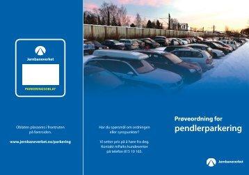 pendlerparkering - Jernbaneverket