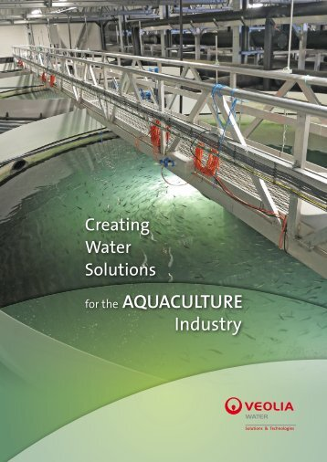 for the AQUACULTURE Industry - Veolia Water Solutions ...
