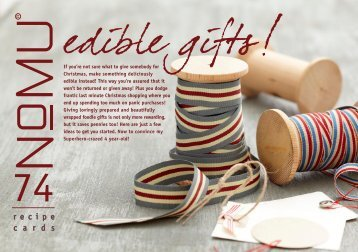 NoMU Recipe Cards Vol.74 Edible Gifts, December [812 KB]