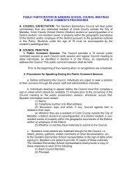 Download the School Council Public Comments Procedures