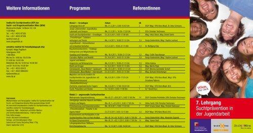 SDW Folder 7. Lehrgang_Layout 1 - Institut für Freizeitpädagogik