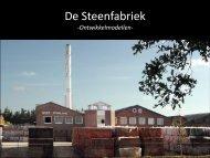 Ontwikkelmodellen steenfabriek - Gemeente Rijssen-Holten