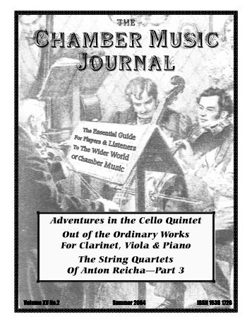 Volume 15 No.2 Summer 2004