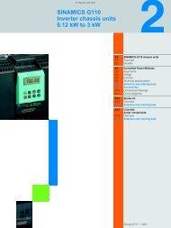 sinamics g110 - Teknika Otomasyon