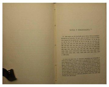 Notas y bibliografía