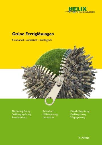 Katalog 'Grüne Fertiglösungen' - Bodendecker am laufenden Meter