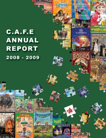 2008-2009 Annual Report - Canadian Association of Fairs and ...