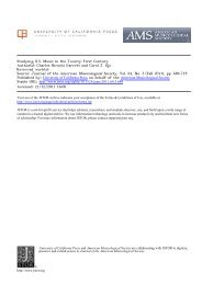 Studying U.S. Music in the Twenty-First Century - Harvard University ...
