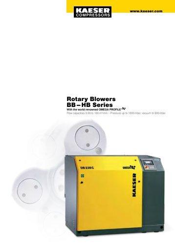 Rotary Blowers BB – HB Series - Kaeser Compressors