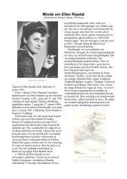 Nyholm, Bodil 'Minde om Ellen Raadal'.pdf - Thisted Museum