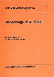 19 Klimaanlage im Audi 100 - VolksPage.Net