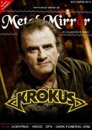 METAL MIRROR #37 - Krokus, Agrypnie, Vreid, SPV, Dark Funeral ...
