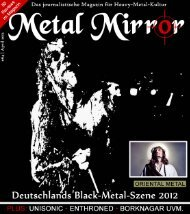 friede! peace! shalom! salam! - Metal Mirror