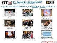 1ère Rencontre Utilisateurs GT - Gamma Technologies
