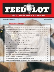 May/June - Feedlot Magazine