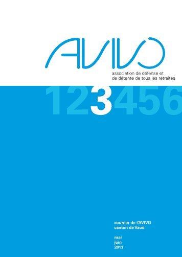 Courrier numéro 3 - Avivo Vaud