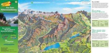 Vier-Seen- Höhenwanderung Vier-Seen ... - Melchsee-Frutt
