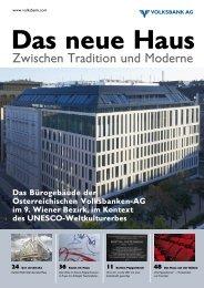 Broschüre herunterladen (6,95 MB) - Volksbank AG
