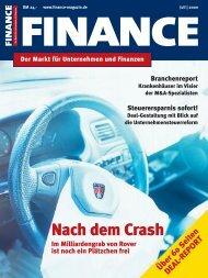 Finance - Jul. 2000 - Klein & Coll.