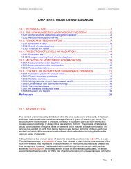 CHAPTER 13. RADIATION AND RADON GAS 13.1 ...