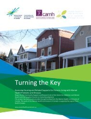 Turning the Key: Assessing Housing and Related ... - YWCA Canada