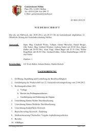 Protokoll_23_Sitzung_ 30.05.2012 - Mellau