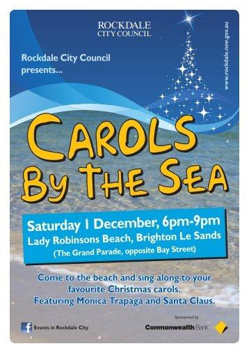 Saturday 1 December, 6pm-9pm - Rockdale City Council