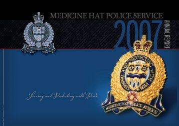 View 2007 report - Medicine Hat Police Service