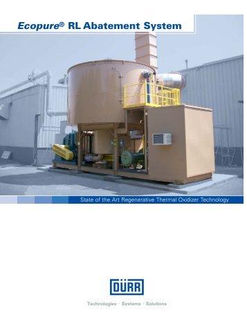 RL Brochure - Durr Environmental