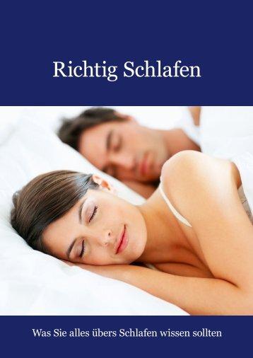 Richtig Schlafen - Was Sie immer schon über Psychologie wissen ...