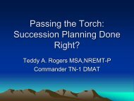 Passing the Torch: Succession Planning Done Right?