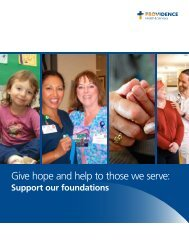 PSMS Renton Giving Campaign - Providence Health & Services logo
