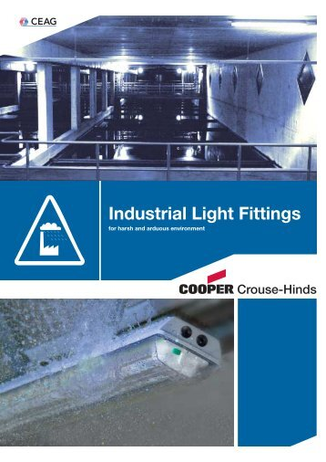 Industrial Light Fittings - Safeexit A/S