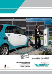 e-mobility 2011/2012 - Walther Werke