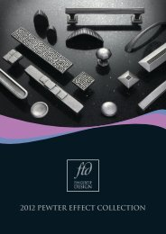 Pewter Effect Collection - Architectural Hardware Direct