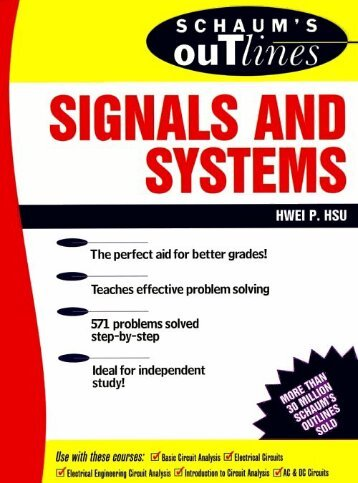 Schaum's Outlines of Signals & Systems (Ripped by sabbanji)