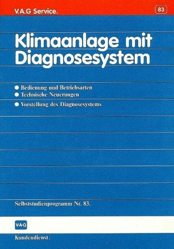 83 Klimaanlage mit Diagnosesystem - VolksPage.Net