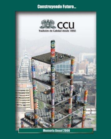 Memoria Anual 2000 - CCU Investor