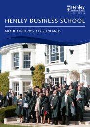 B05777 HLY Graduation directory 2012 pgo v 4.indd - Henley ...