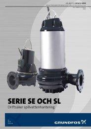 Broschyr: Serie SE och SL 0,9-30 kW - Grundfos AB