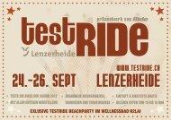 24.–26. Sept Lenzerheide